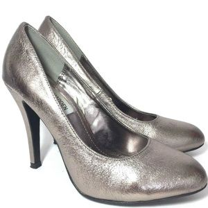 Steve Madden Ronni Metallic Size 8 Slip On Pumps